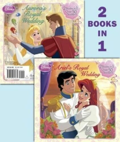 1 of 1 - Ariel's Royal Wedding/Aurora's Royal Wedding (Disney Princess) (Deluxe-ExLibrary