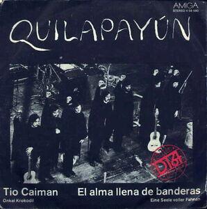 Quilapayun-Tio-Caiman-El-Alma-Llena-De-Banderas-DDR-SP-1975-AMIGA-4-56-080