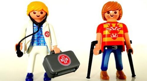 Playmobil City Life Doctor and Patient 70079 for Kids 4 and up