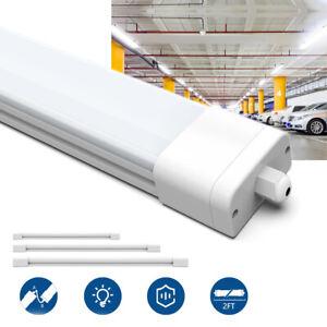 LED Feuchtraumleuchte 60//120//150cm Wannenleuchte Röhre Kellerleuchte Neutralweiß