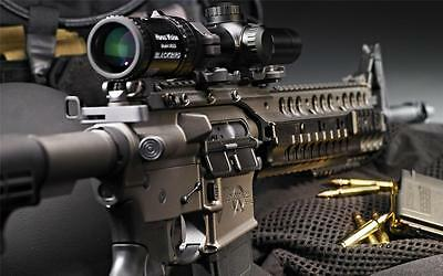 AR-15 GLOSSY POSTER PICTURE PHOTO machine guns rifle shotgun weapons scopes 331