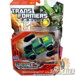 Unparteiisch Sergeant Kup Transformers Prime Deluxe Autobot Figur Robots In Disguise Hasbro Perfekte Verarbeitung Transformers Action-figuren