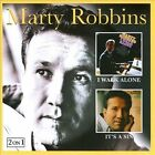 I Walk Alone/It's A Sin by Marty Robbins (CD, Oct-2010, Hux Records (Label))