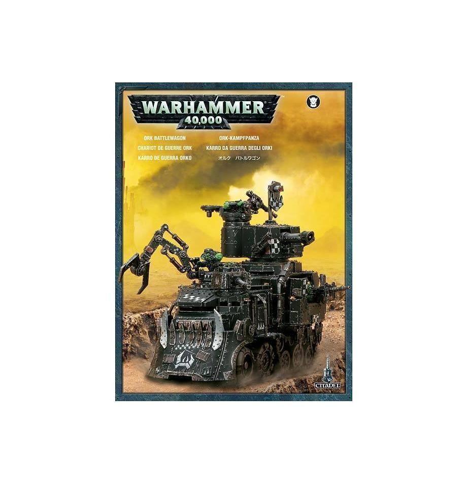 Warhammer 40k-Ork BATTLEWAGON-Neuf en boîte   économisez 60% de réduction et expédition rapide dans le monde entier