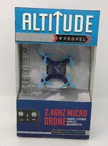Altitude by Propel 2.4 GHZ Micro Drone Indoor/Outdoor BLUE