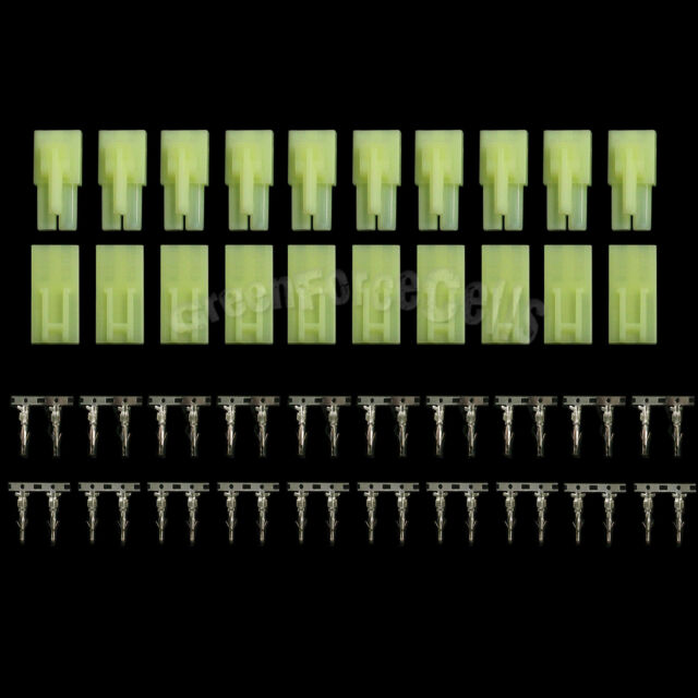 10 pairs Male Female Green Unwired Mini Tamiya Plug Airsoft Connector US Stock