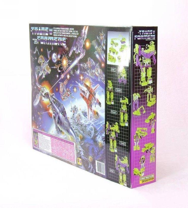 Transformers G1 REIS devastator haul haul haul Scrapper Ook Mixmasster Avenger Bonecrusher 8d3b2c