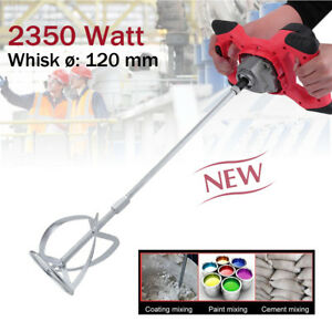 2350-Watt-Farbruehrer-Ruehrwerk-Moertelruehrer-Mixer-Handmischer-Ruehrgeraet-Ruehrer-DE