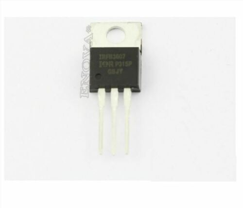 2Pcs 80A 75V N-Channel Mosfet IRFB3607PBF IRFB3607 IRF3607 New Ic gi