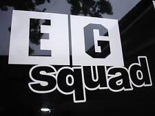 EG Squad Sticker Decal Civic EG3 EG4 EG5 EG6 EG9