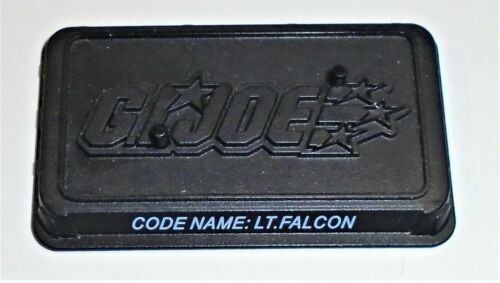 Base         2008  Lt Falcon GI Joe Figure Name Plate Display Stand