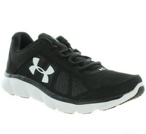 Under Armour 3020673-001 Men/'s Micro G Assert 7 Running Sneakers Black White