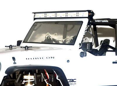 Aluminum LED Light Bar for AXIAL SCX10 Jeep Wrangler