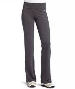 Everlast-Shaping-Bootleg-Slimming-Tummy-Control-Yoga-Pants-Charcoal-S-NEW