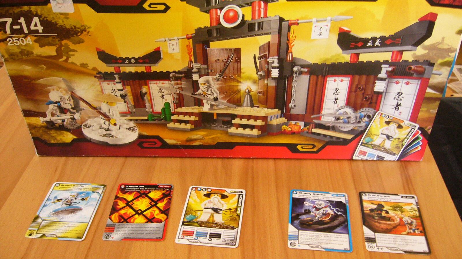 LEGO 2504 NINJAGO SPINJITZU Training centro Wu OVP