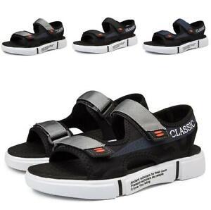 Summer-Mens-Flats-Straps-Open-Toe-Soft-Slingback-Beach-Non-slip-Sandals-Shoes