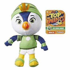 NEW-HASBRO-PLAYSKOOL-NICK-JR-TOP-WING-TOP-WING-BRODY-7-034-PLUSH-FIGURE-E5457