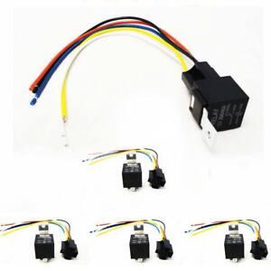 on 5 pin relay socket wiring