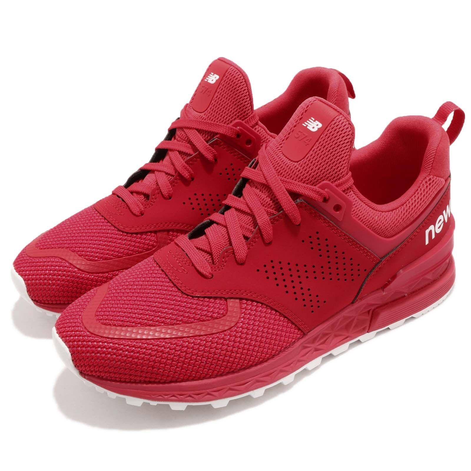 MS574PCR Informales D Rojo Blanco New Balance Hombres Correr Informales MS574PCR Zapatos  Tenis MS 2018 PCRD 057fd9