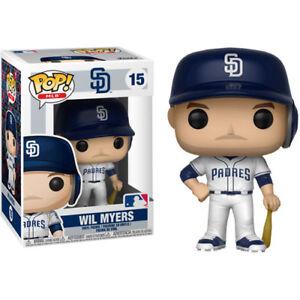 Major-League-Baseball-Wil-Meyers-San-Diego-Padres-Pop-Vinyl-Figure-NEW-Funko