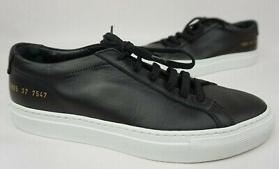Women's Shoes Learned Woman By Common Projects Original Achilles Low Black Sneaker Shoe Size 37 7 Us Online Discount