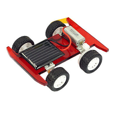 DIY Gravity Car Physics Invention Assembly Scientific Experiments Kids Toys