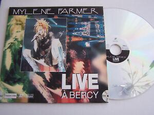 LASERDISC-PAL-MYLENE-FARMER-LIVE-A-BERCY-TRES-BON-ETAT-1997