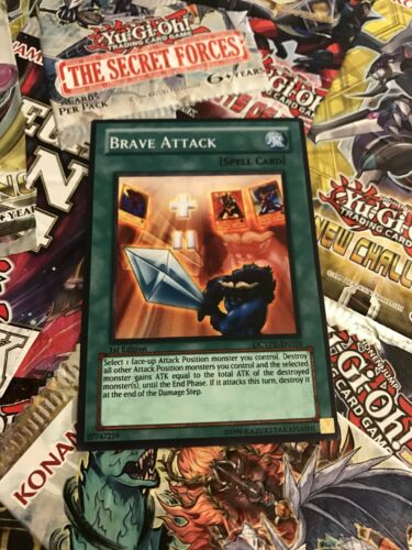 common Orica Cosplay card Brave Attack custom card