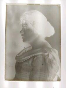 5x7 Glass Negative Vintage Family Pic Circa 1901