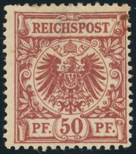 DR-1889-MiNr-50-b-ungebraucht-Fotoattest-Jaeschke-L-Mi-1400