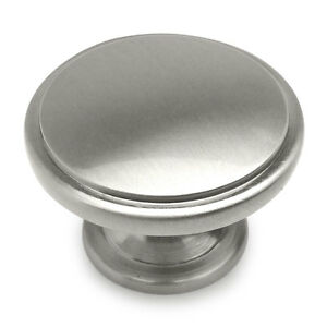 Cosmas Satin Nickel Round Oversized Bi Fold Bifold Door Knobs #4306SN | EBay
