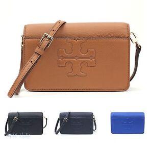 16b0d1721d82 Image is loading New-Tory-Burch-Bombe-T-Small-Crossbody-Handbag-
