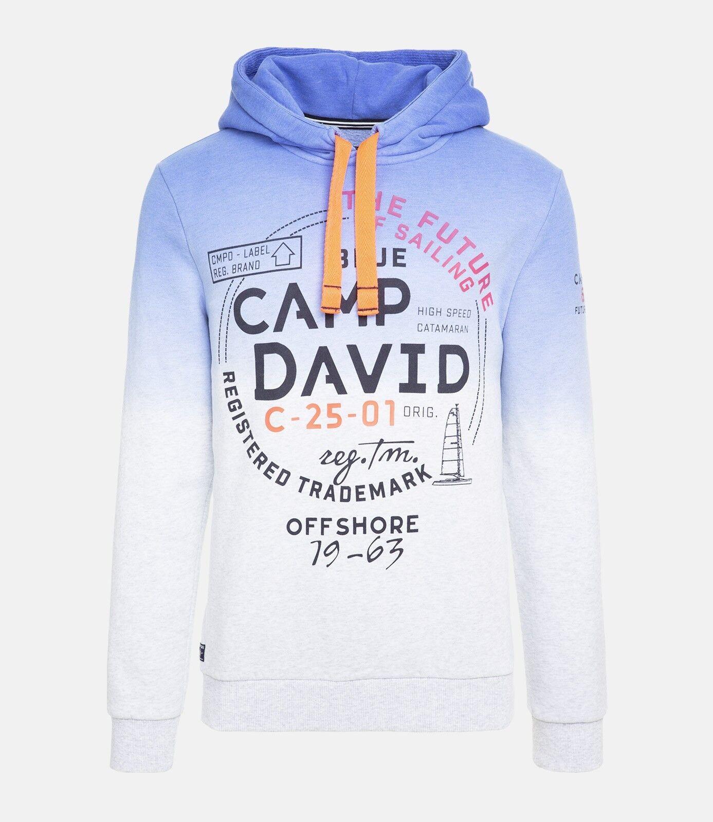 HOODIE CAMP DAVID DIETER BOHLEN-DAS SUPERTALENT-NEUWARE    Gr.XL