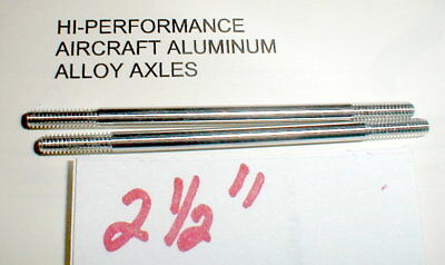 "Mila MIglia 2/"" Axles Steel 1//8/"" OD Vintage 1960s Slot Car 5:40 Thread  NOS 2"
