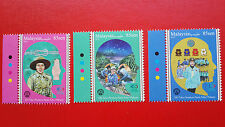 2016 Malaysia 100th Anniversary Of Girl Guides Association - Stamp Set