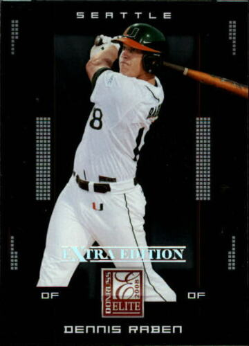 2008 Donruss Elite Extra Edition Baseball Pick From List
