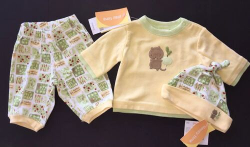 NWT Gymboree How Does Your Garden Grow Up to 7 lb Vegetable Gopher Top Pants Hat