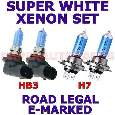 Alfa Romeo Spider 65w Super White Xenon HID Low Dip Beam Headlight Bulbs Pair