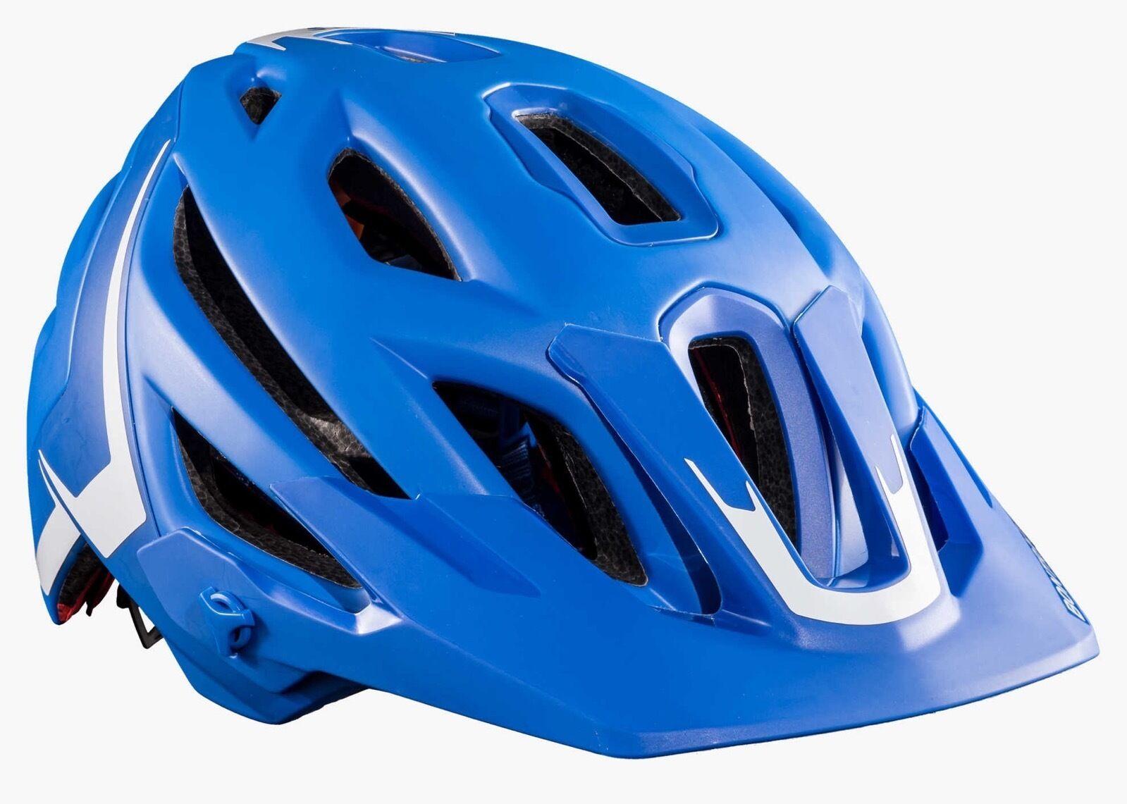 Casco Ciclismo Helmet Bontrager Lithios en Azul Tamaño M