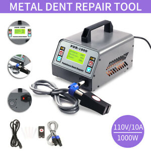 1000W Hot Box Dent Removal Tool Sheet Metal Repair Induction Heater PDR-1000