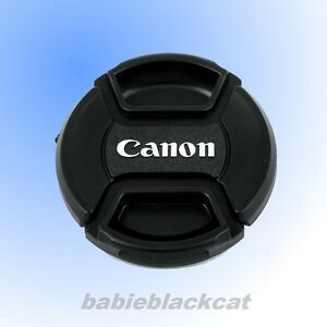new 58mm front lens cap snap on cover for canon camera | ebay
