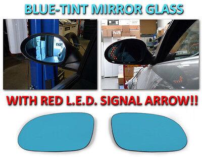 98-04 MERCEDES R170 SLK / 98-02 W208 CLK RED ARROW LED TURN SIGNAL MIRROR GLASS