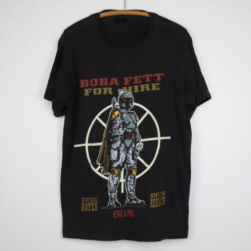 Vintage 1996 Star Wars Boba Fett For Hire Shirt