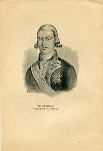 The-General-Earl-of-The-Union-Photoetch