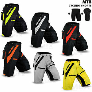 MTB-Cycling-Short-Off-Road-Bicycle-With-CoolMax-Padded-Liner-Short-Dimex-NEW