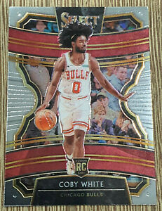 2019-20-Panini-Select-Coby-White-Concourse-Rookie-RC-48-Bulls
