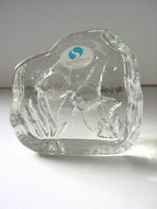 CREAZIONI-SILVESTRI-2-Aquarium-Angel-Fish-in-Crystal-Glass-Made-in-Italy-NEW