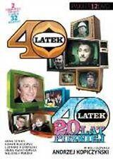 40-LATEK - 40-LATEK 20 lat pozniej - 12 DVD -Polen,Polnisch,Polska,Poland