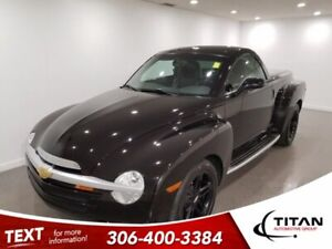 2004 Chevrolet SSR Super Sport Roadster | Leather | 1 of 365 CDN Models