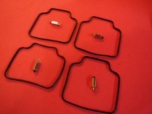 4x Carb kits Honda 1986 CB700SC NIGHTHAWK gasket float needle